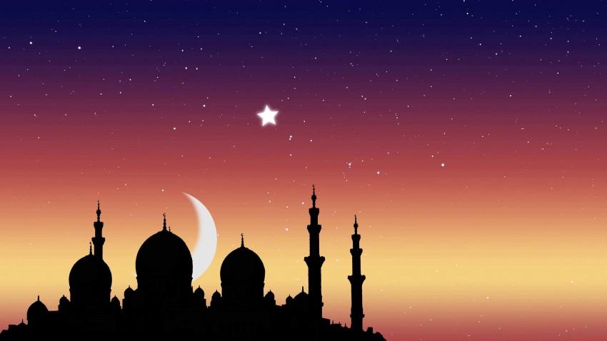 Islamic Masjid PowerPoint  Background Templates