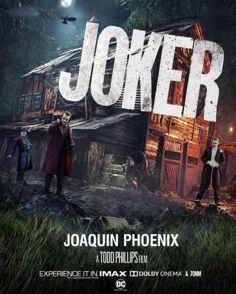 Jocker Poster CB Picsart Background