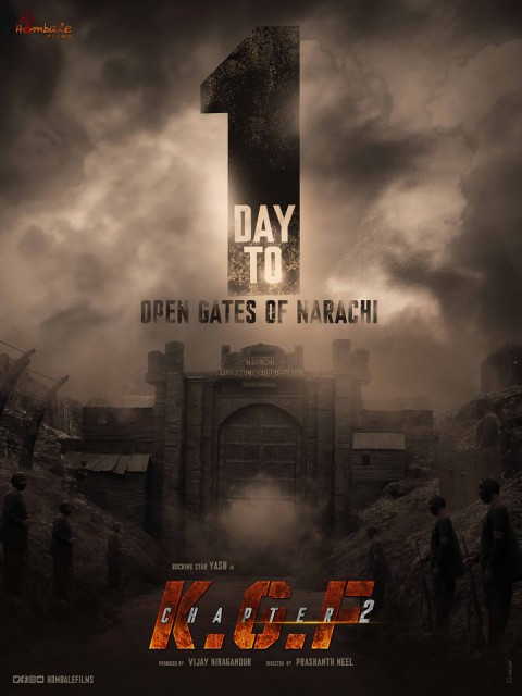 KGF Chapter 2 Movies Poster Background
