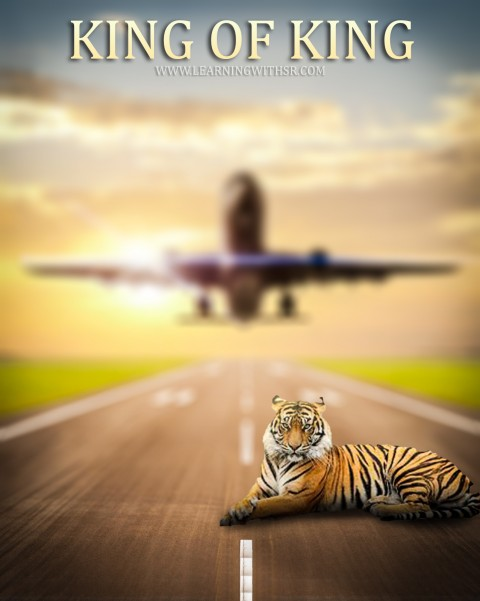 King Tiger Editing CB Background Download