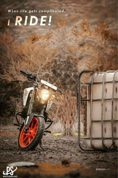 Ktm Bike CB Editing Picsart Background