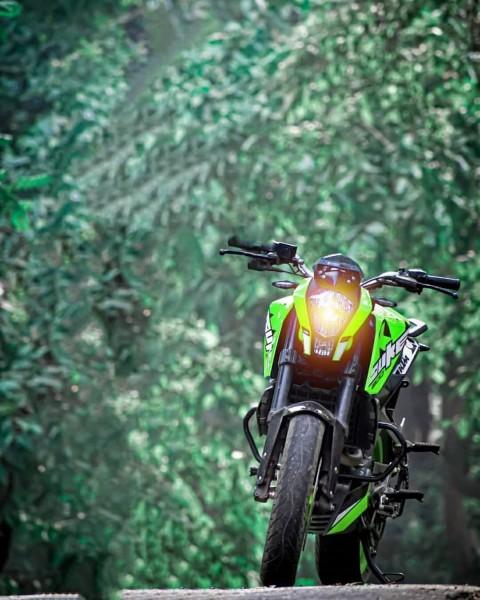 Ktm Bike On Road Picsart Background
