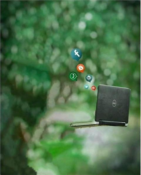 Laptop Vijay Mahar Background