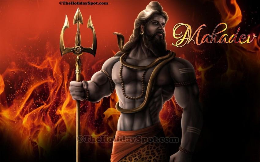 Mahadev PicsArt CB Editing HD Background