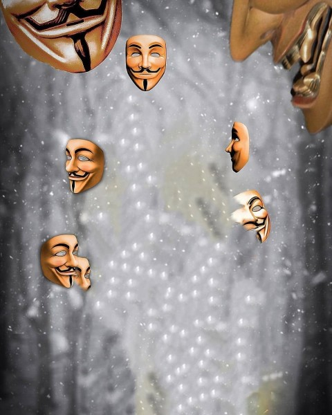 Mask Photo Editing Background HD Download