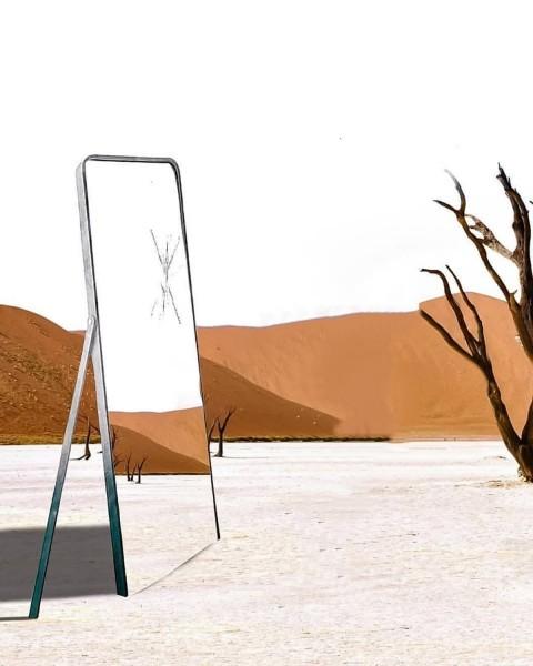 Mirror Picsart Editing Background