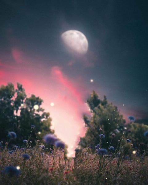 Moon Editing CB Background HD