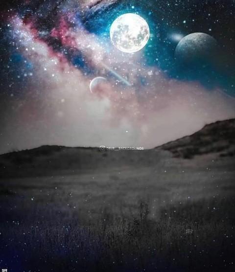 Moon PicsArt Editing Background Download Full HD (