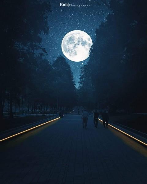 Moon Picsart Editing CB Background