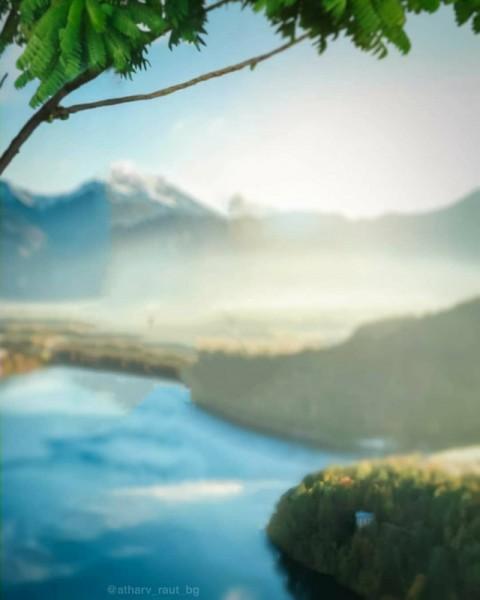 Nature Blur PicsArt Editing Background HD