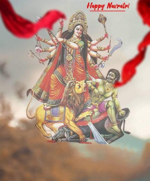 Navratri  Durga Puja CB PicsArt Editing Background