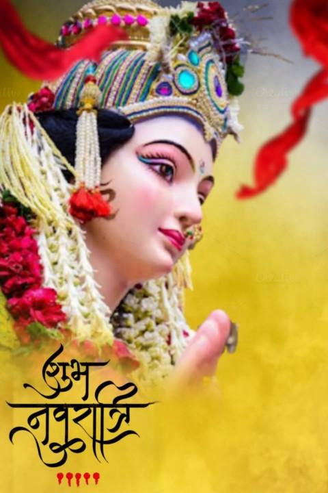 Navratri Maa Durga Devi CB PicsArt Editing Background