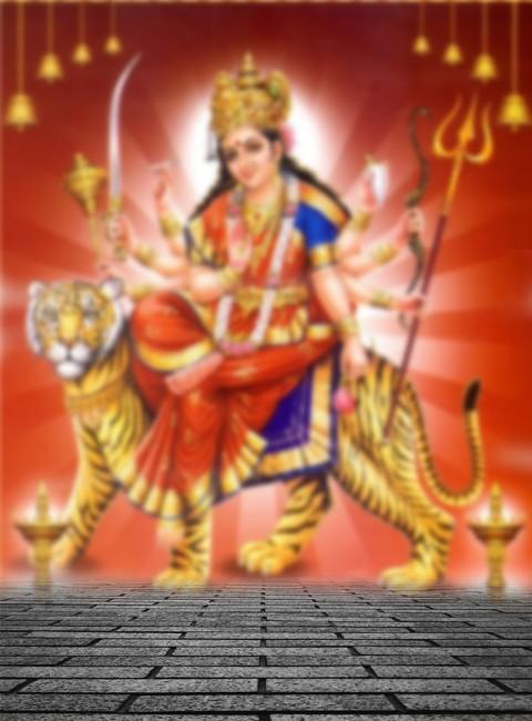 Navratri Maa Durga PicsArt Editing Background  Full HD