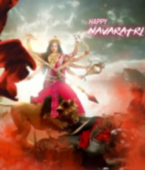Navratri Maa Durga pUJA CB PicsArt Editing Background