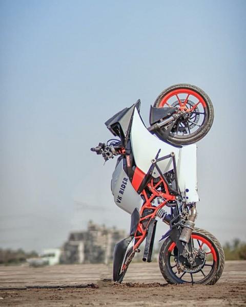 New CB Background Ktm Bike