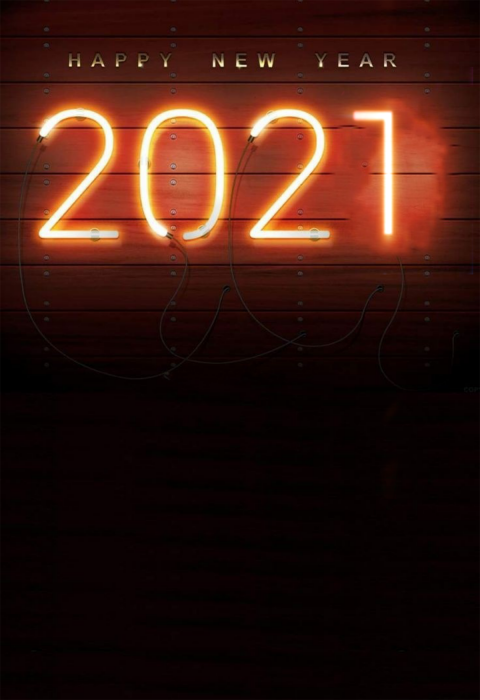 Neon Effect New Year Editing 2021 Background HD