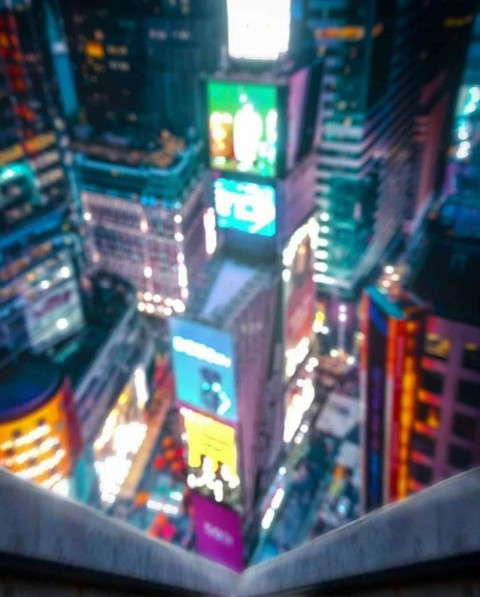 Night City Photo Editing Background HD Download