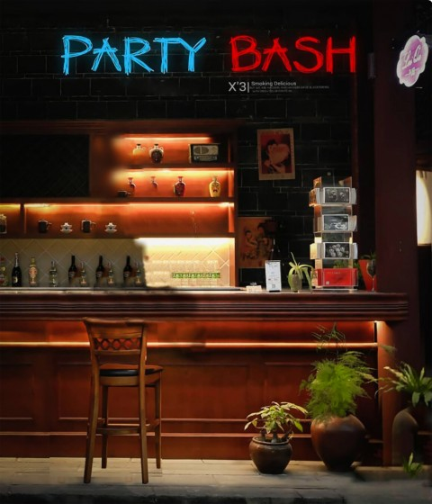 Party Bash CB Background HD