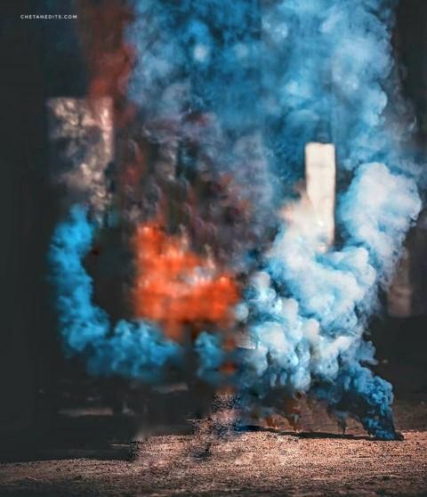 Picsart Color Smoke Editing Background
