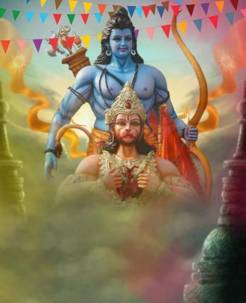 PicsArt God Ram Ji Editing Background