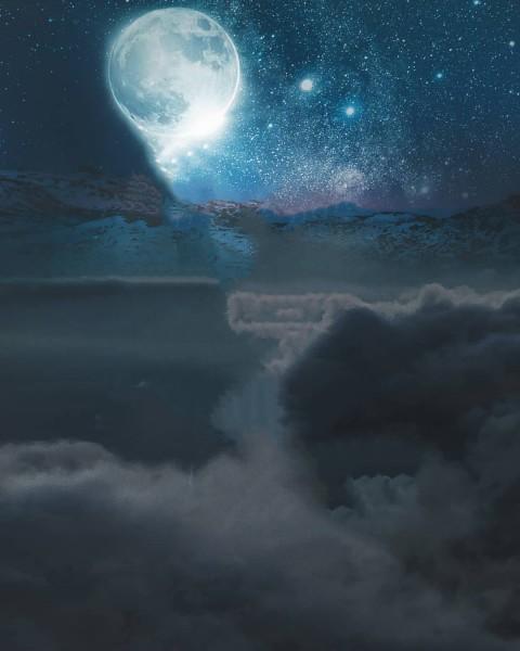 Picsart Moon Editing CB Background