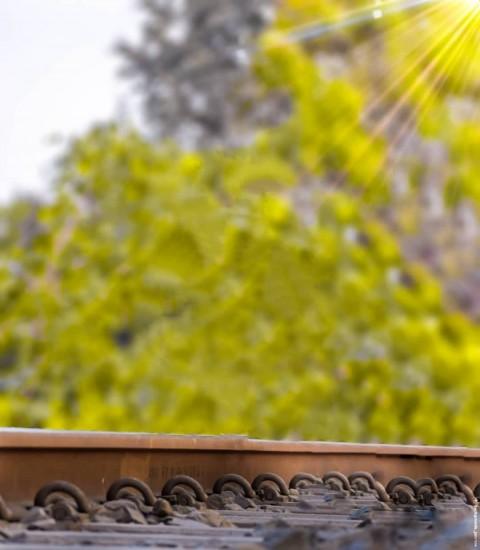 Railway Track PicsArt Editing Background HD