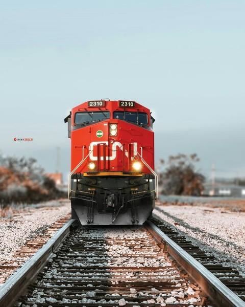 Railway Train PicsArt Editing Background Download Full HD