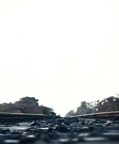 Railway Trake PicArt Background HD Background