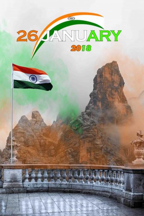 Republic Day 26 January Picsart Editing Background