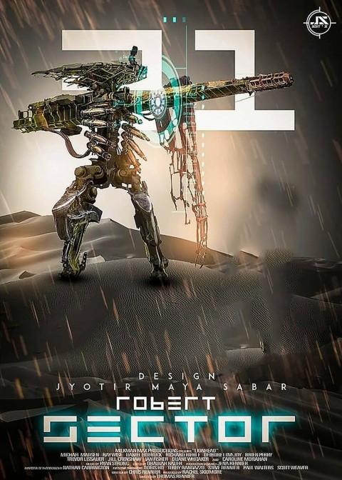 Robot CB Editing Background