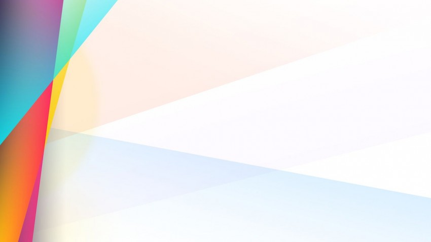 Simple White Powerpoint Background