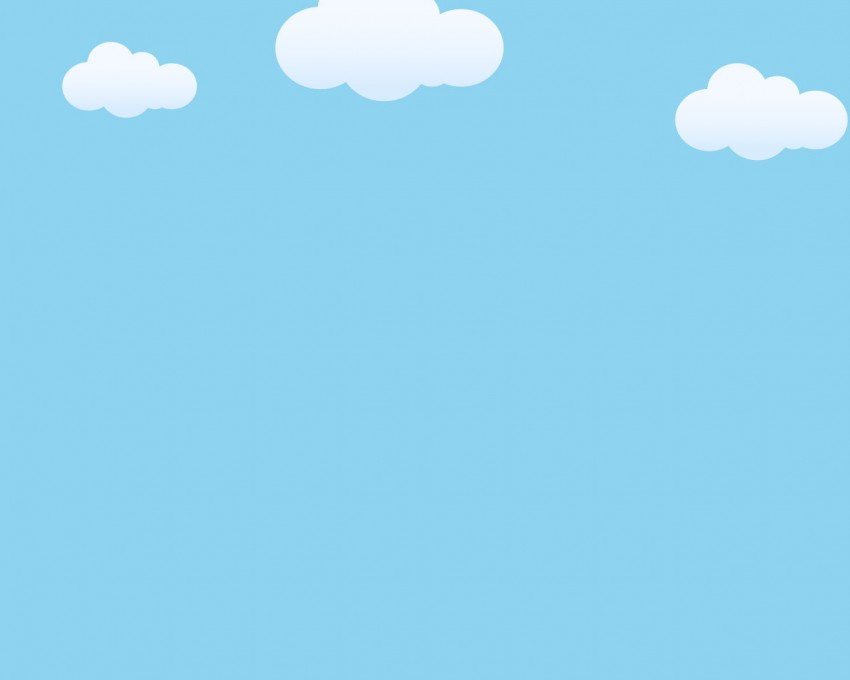 Sky Blue PowerPoint Background Download