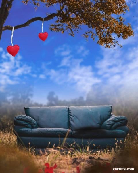 Sofa Love CB Background Download