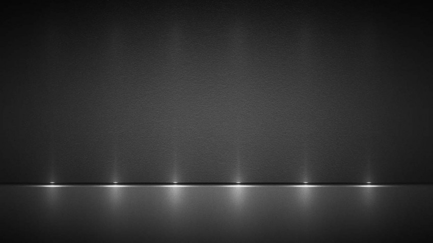 Stage Black And Silver PowerPoint Background