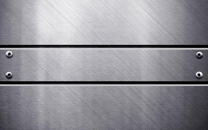 Steel Silver HD Metal Texture Background