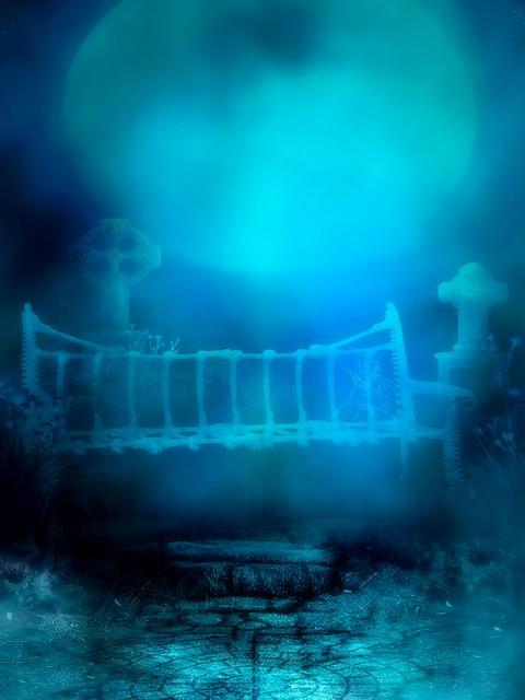 HD Studio Background Blue Colour