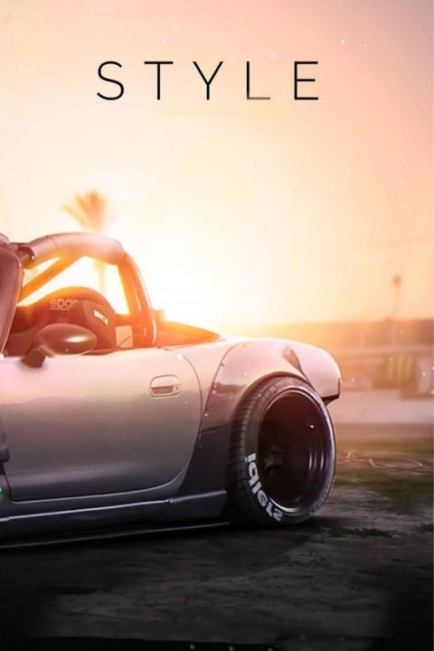 Stylish Car Picsart CB Background