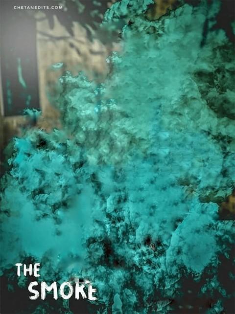 The Green Smoke Picsart CB BackgroundDownload