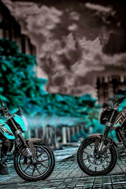 Tow Bike CB Background For Picsart