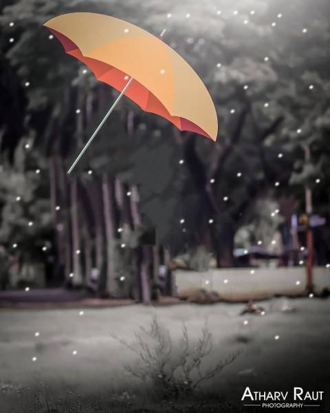 Umbrella Picsart CB Background Full Hd