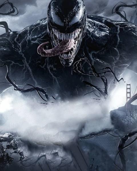 Venom Movie Poster Picsart Background
