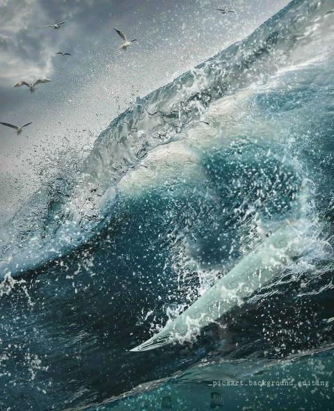 Water PicsArt Editing HD Background  (12)