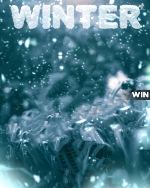 Winter PicsArt Photo Editing Background Full hd
